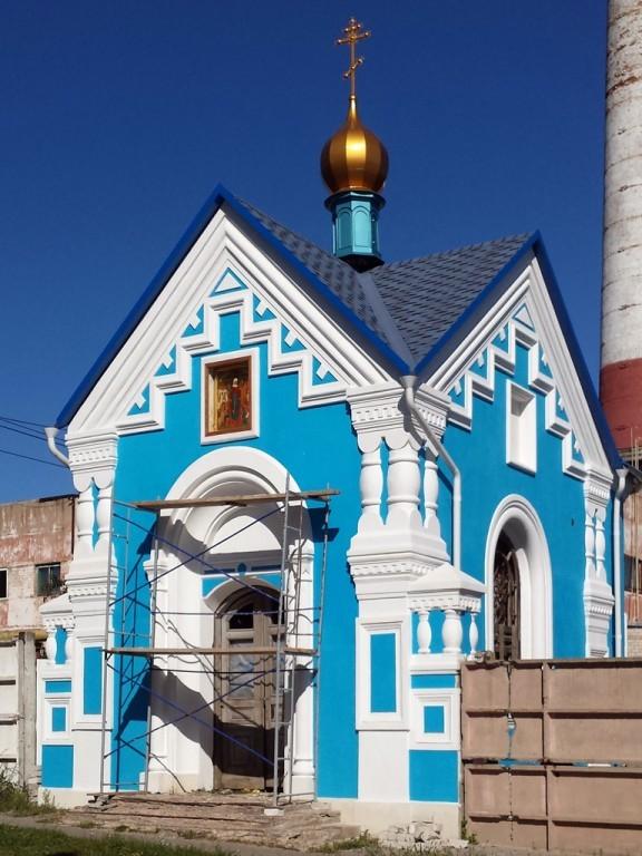 Храм-часовня иконы Божией Матери  Всех скорбящих Радость в Рыльске