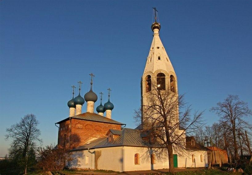 Церковь Воскресения Христова в Железном Борке
