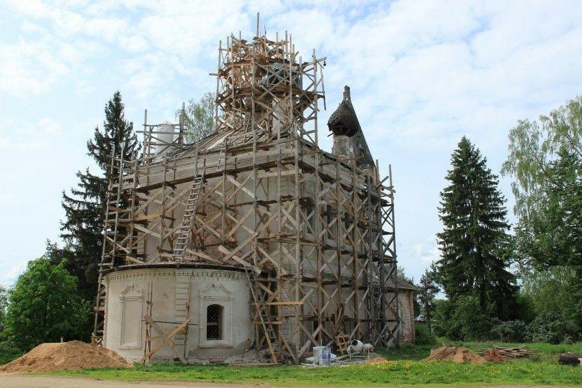Церковь Николая Чудотворца в Нефедьево