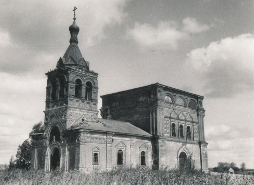 Церковь Казанской иконы Божией Матери в Заполицах
