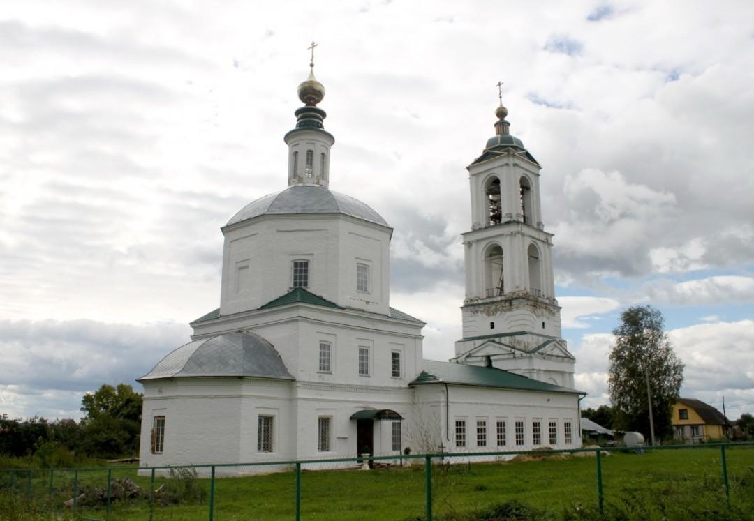 Церковь Спаса Преображения в Добрынском