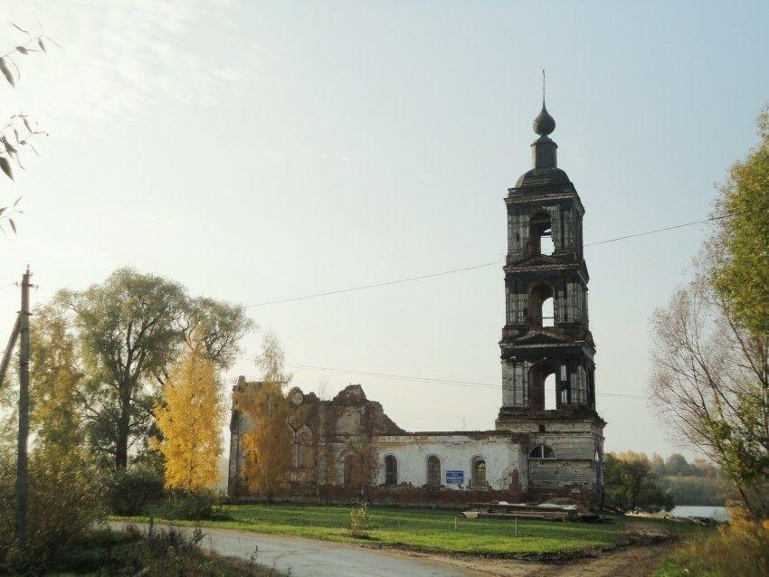 Церковь Воздвижения Креста Господня в Воздвиженском (Ярославская область)