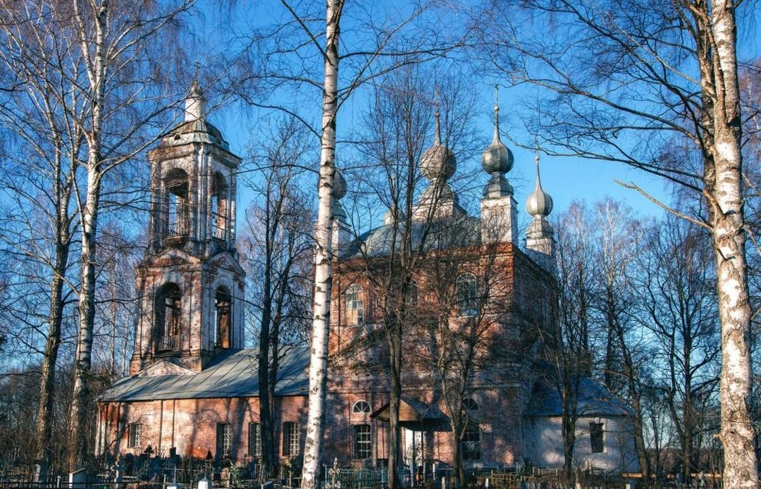 Церковь Владимирской иконы Божией Матери в Мишаках