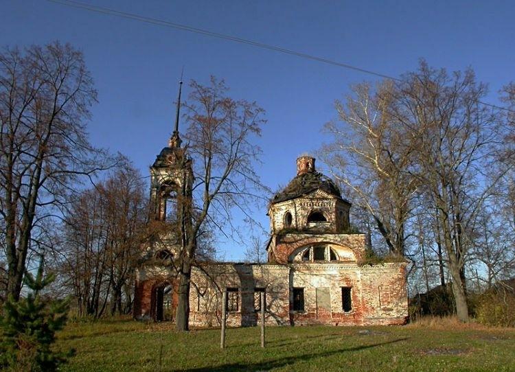 Церковь Казанской иконы Божией Матери в Юрьевском