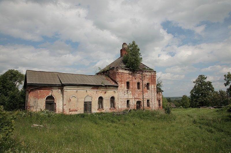 Церковь Димитрия Солунского в Дмитриановском