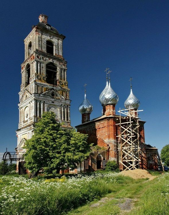 Церковь Василия Великого в Деревнях
