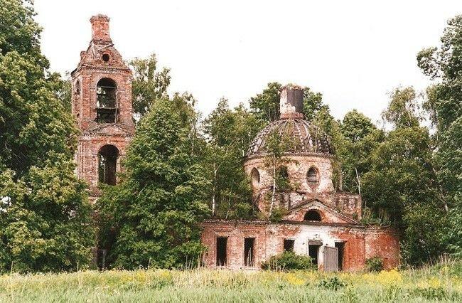 Церковь Илии Пророка в Астафьево