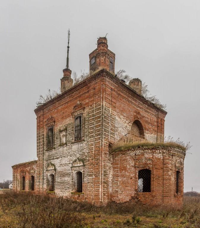 Церковь Воздвижения Креста Господня в Вышеславском