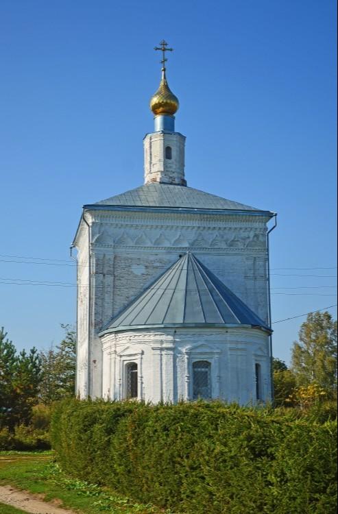 Церковь Троицы Живоначальной в Абакумлево