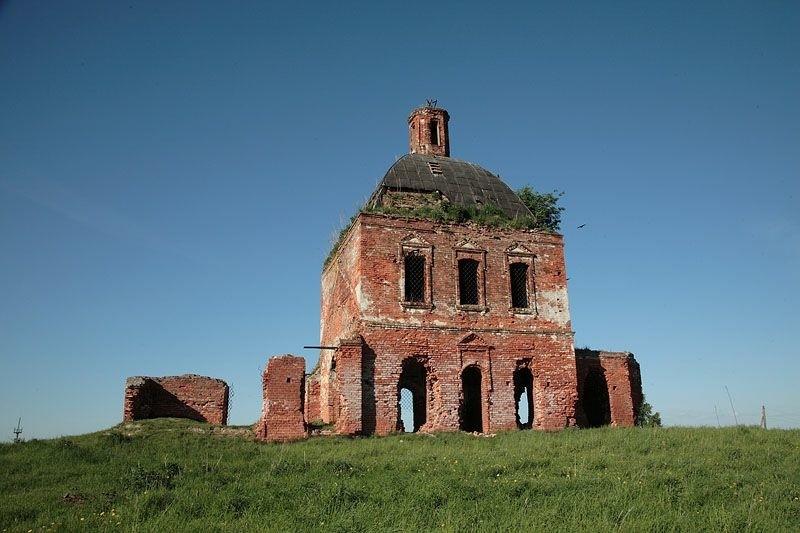 Церковь Димитрия Солунского в Филимоново на Сотьме