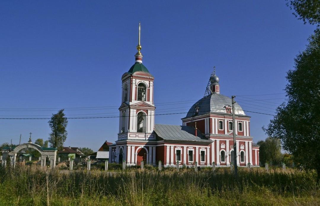 Церковь Спаса Преображения в Купанском