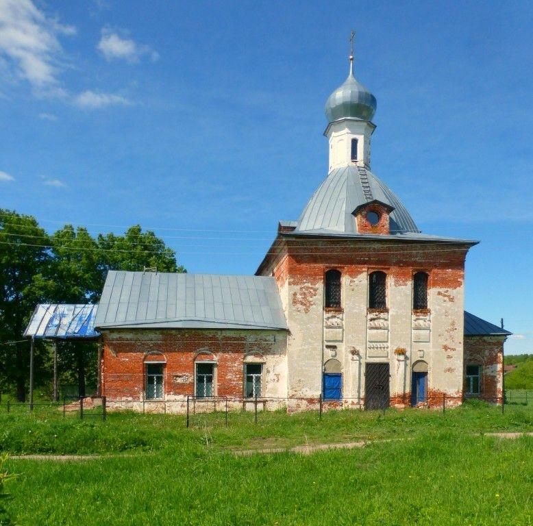 Церковь Троицы живоначальной в Ефимьево (Переславский район)