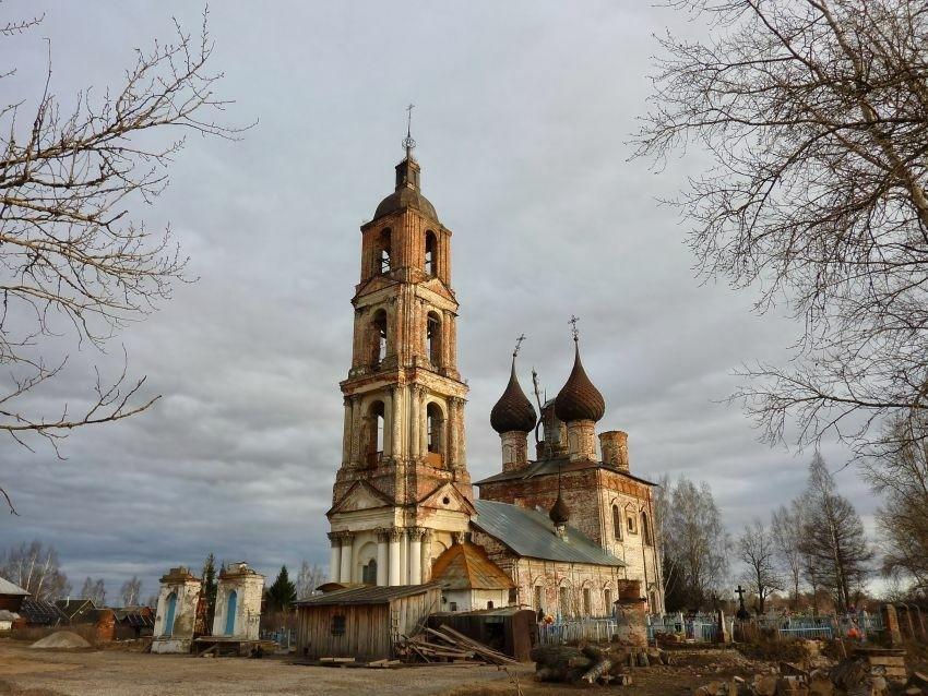 Церковь Спаса Нерукотворного Образа в Рыбницах