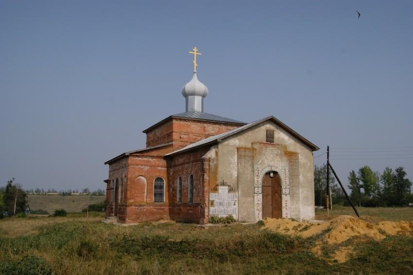 Храм святого великомученика Георгия Победоносца в Малом Змеинце