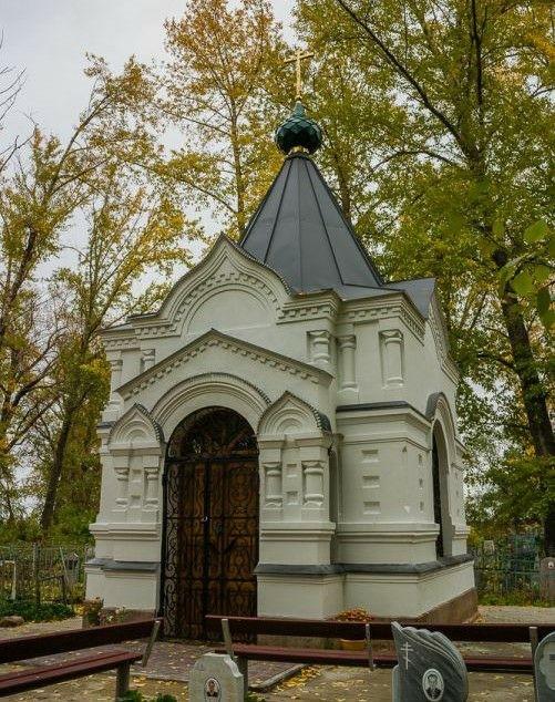 Часовня-усыпальница Покровского в Сменцево