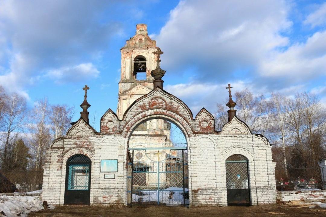 Церковь Покрова Пресвятой Богородицы в Правдино