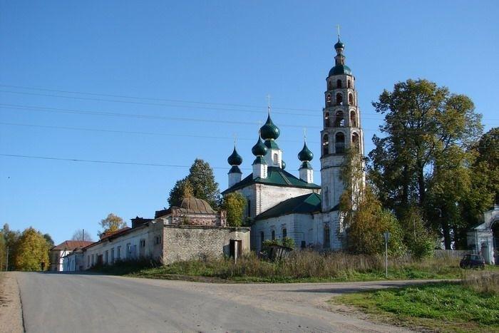 Церковь Троицы Живоначальной в Горинском