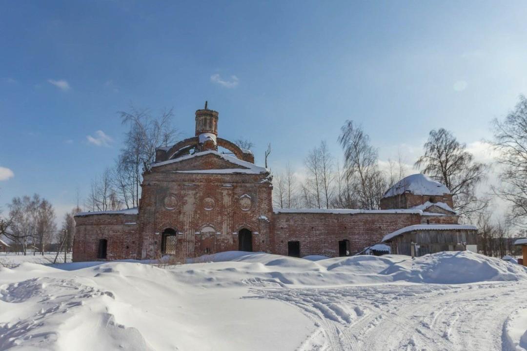 Церковь Николая Чудотворца в Ставотино