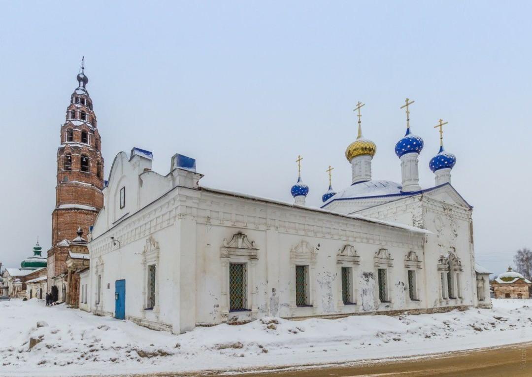 Церковь Покрова Пресвятой Богородицы в Великом