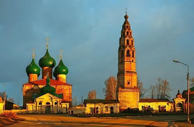 Церковь Рождества Пресвятой Богородицы в Великом