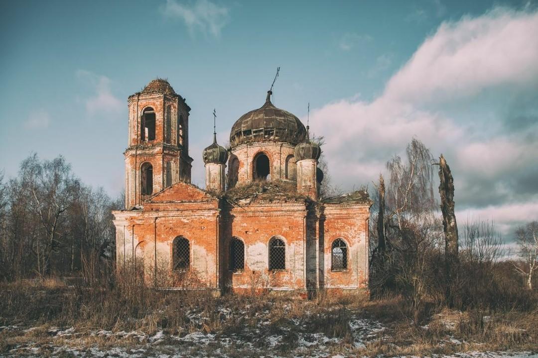 Церковь Николая Чудотворца в Николо-Пенье