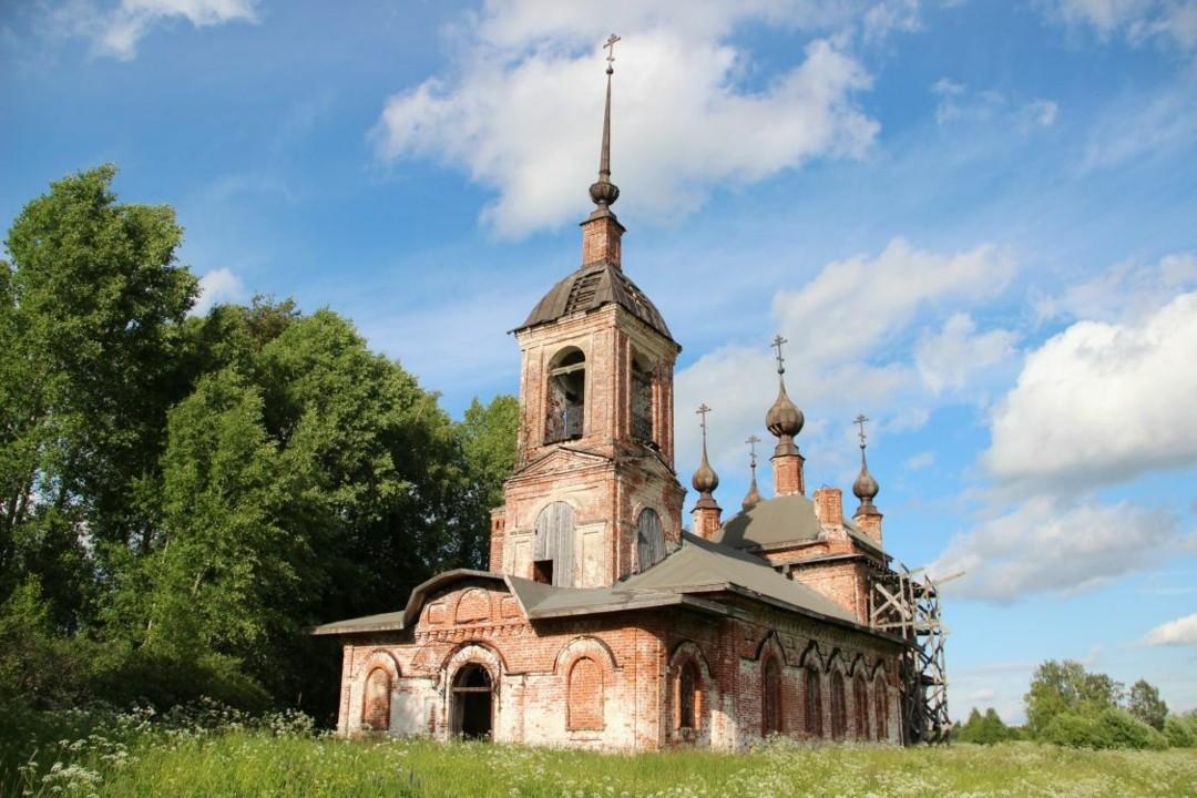 Церковь Николая Чудотворца в Зубарёво