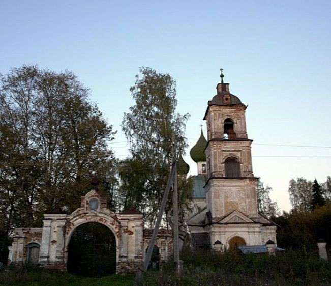 Церковь Усекновения главы Иоанна Предтечи в Николо-Молокше