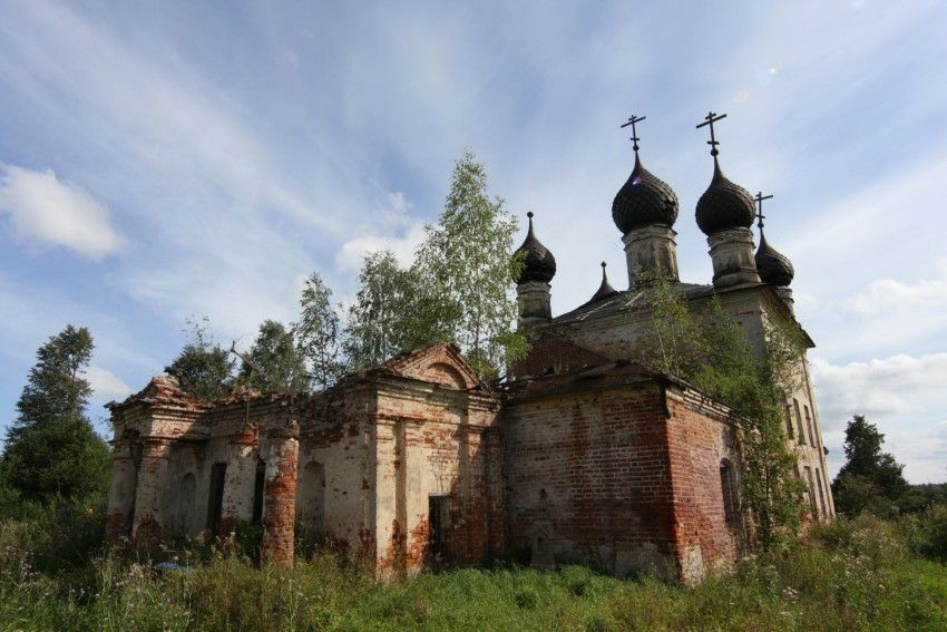 Церковь Успения Пресвятой Богородицы в Ильинском