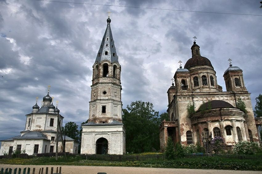 Храмовый комплекс Корцовского прихода в Корцово