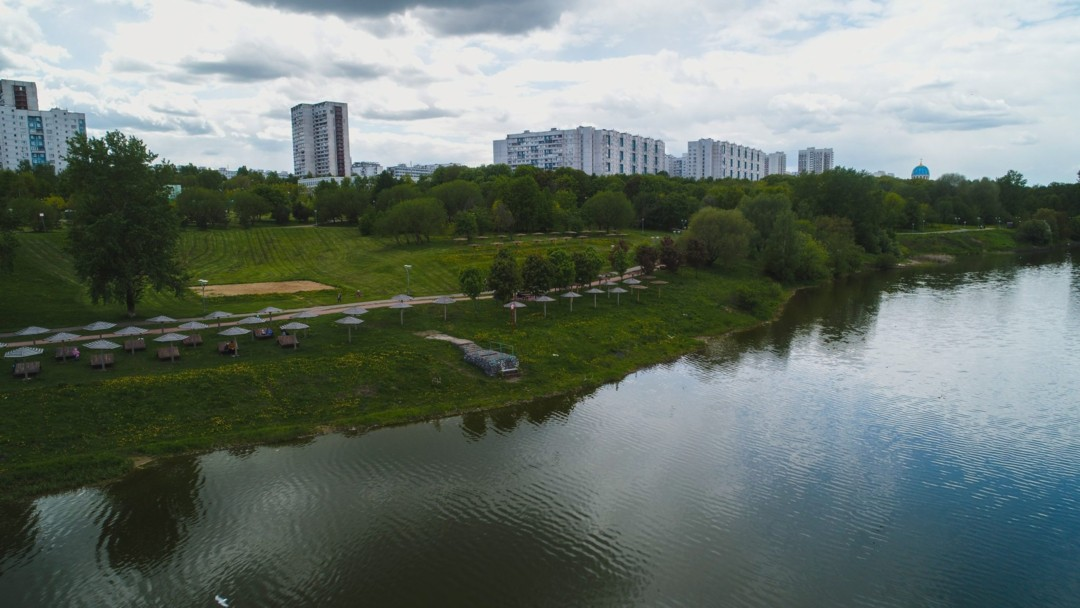 Самый большой рукотворный пруд Москвы