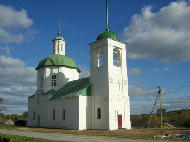Храм преподобного Сергия Радонежского в Мирковых Утах