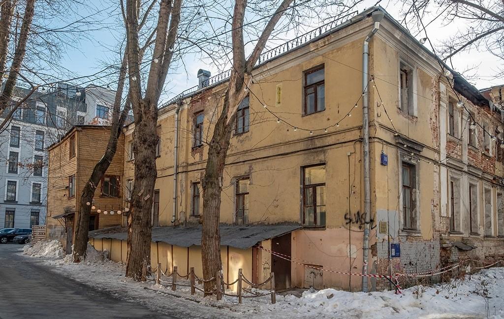Самый старый жилой дом Москвы