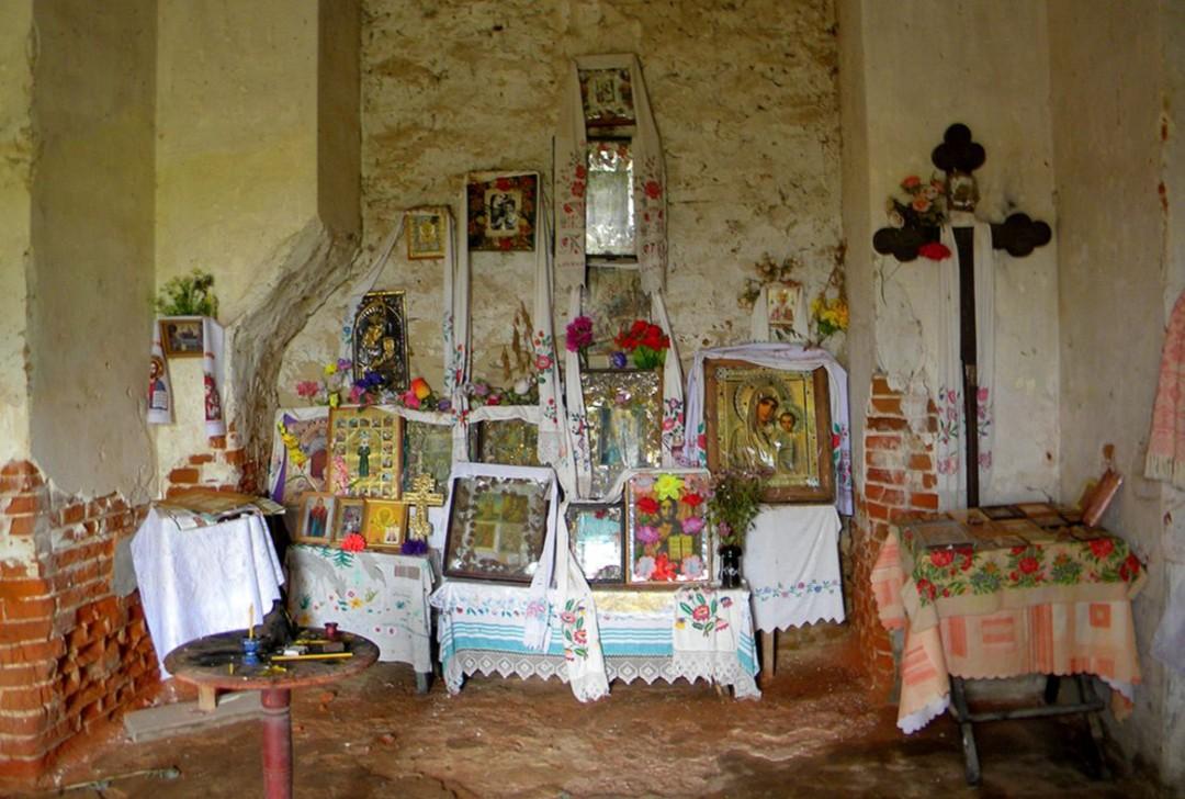 Собор Успения Пресвятой Богородицы Успенского Каменского монастыря (в руинах)