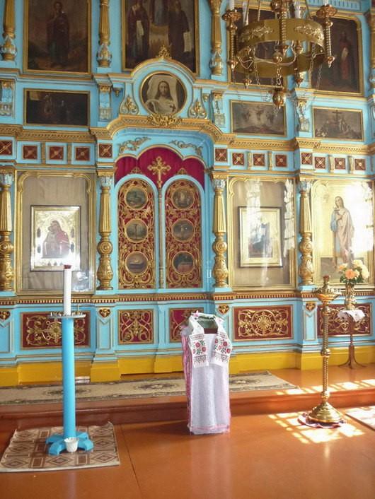 Храм Рождества Пресвятой Богородицы в Душкино