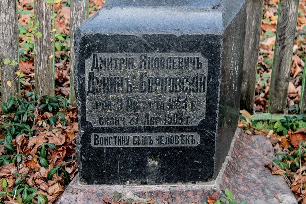 Усадьба Дуниных-Борковских Новая Романовка (в руинах)