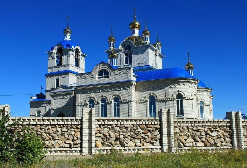 Церковь Николая Чудотворца в Новом городе в Ульяновске