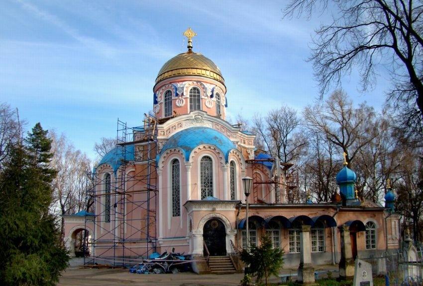 Церковь Воскресения Христова на Старом кладбище в Ульяновске