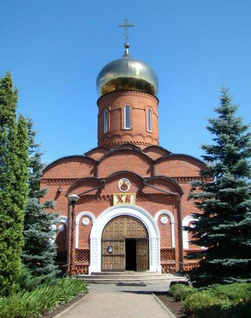 Церковь Владимира равноапостольного на Верхней Террасе в Ульяновске