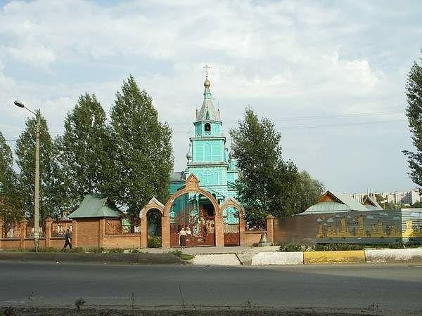 Церковь Благовещения Пресвятой Богородицы в Дальнем Засвияжье в Ульяновске