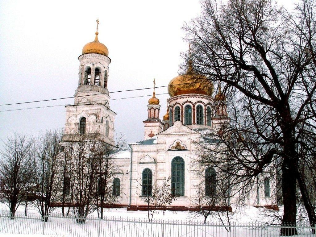 Церковь Рождества Христова в Лебяжье