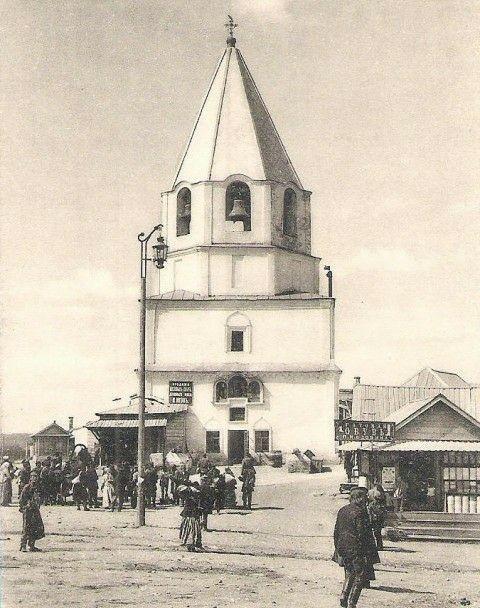 Церковь Спаса Нерукотворного Образа в Спасской башне Кремля в Сызрани