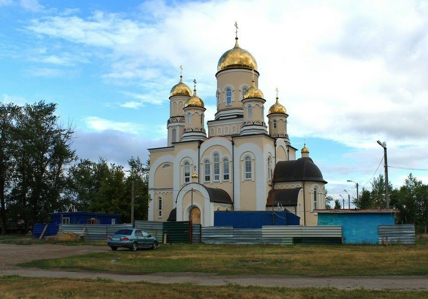 Церковь Георгия Победоносца в Хрящёвке
