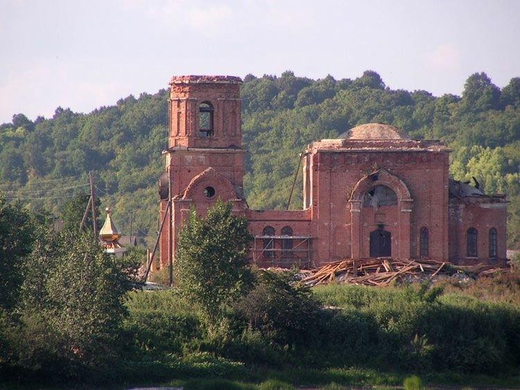 Церковь Казанской иконы Божией Матери в Винновке
