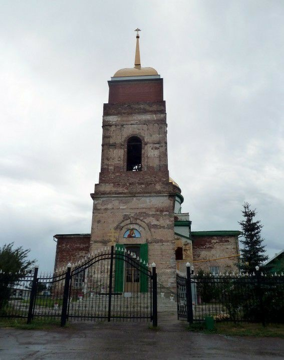 Церковь Вознесения Господня в Уинель-Черкассах