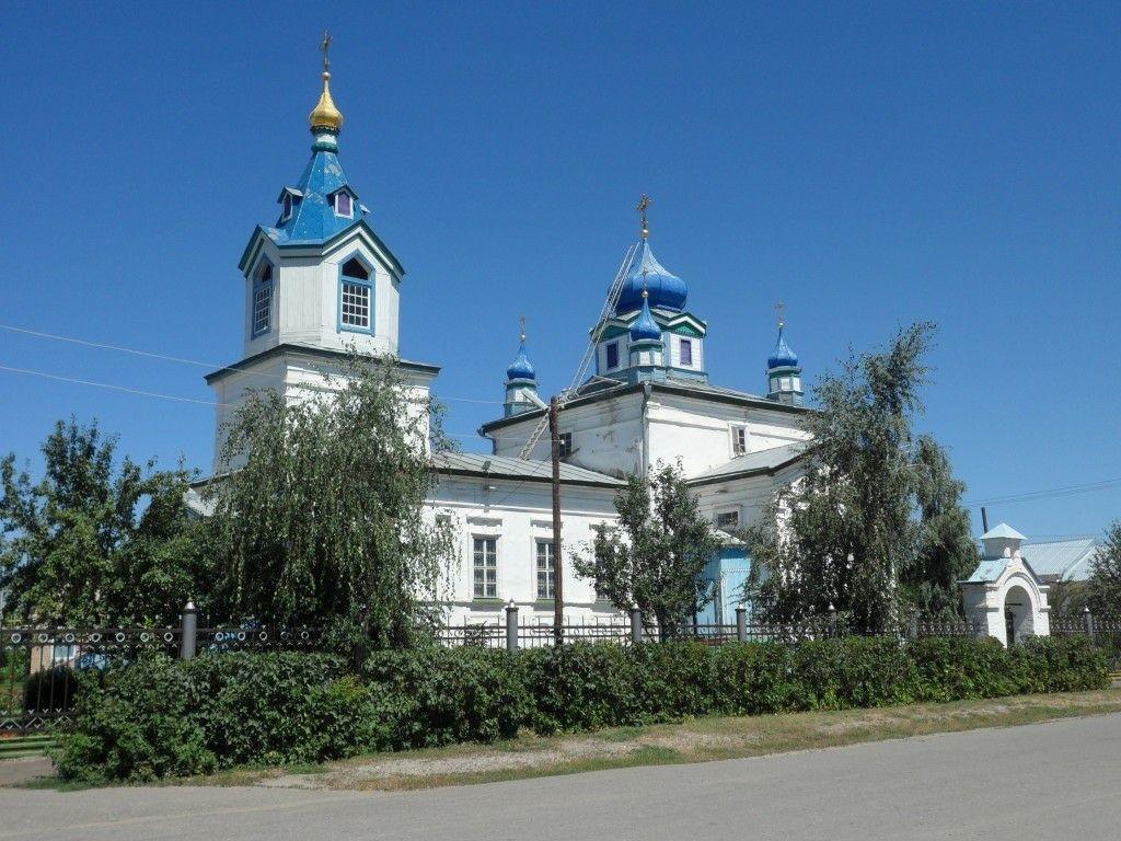 Церковь Казанской иконы Божией Матери в Соль-Илецке