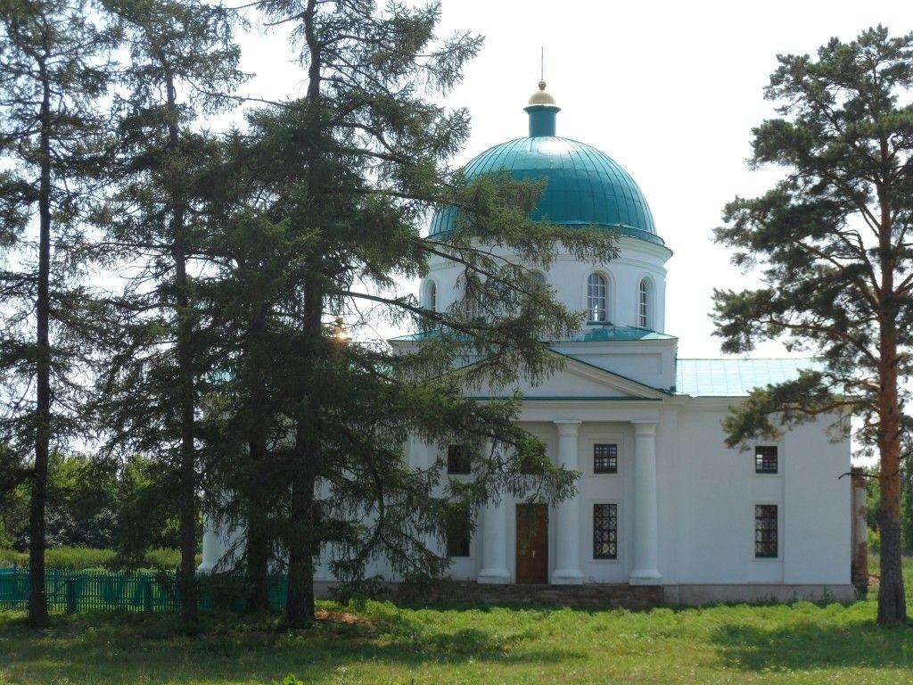 Церковь Спаса Нерукотворного Образа в Спасском