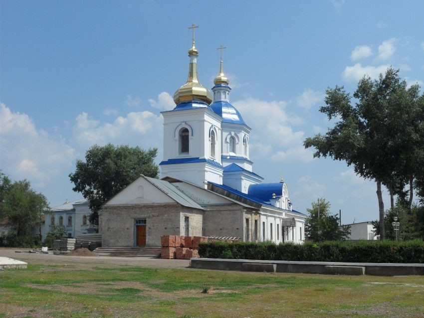 Церковь Казанской иконы Божией Матери в Сакмаре
