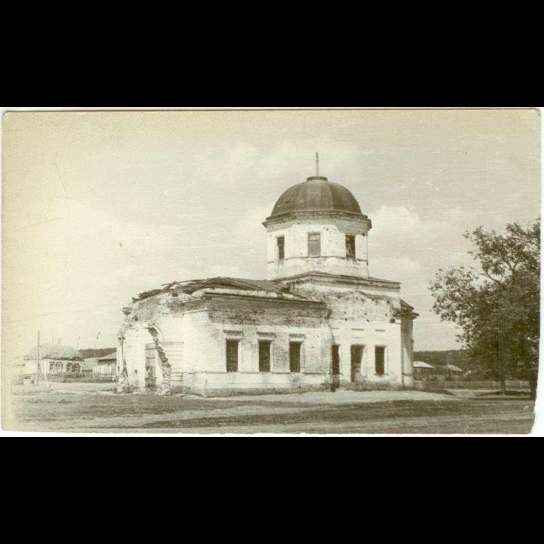 Церковь Николая Чудотворца в Слепцовке