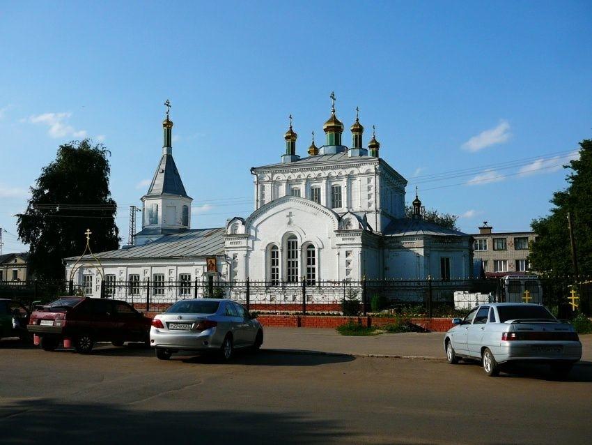 Церковь Александра Невского в Ртищево