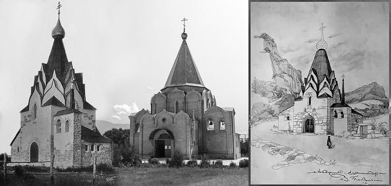 Храм святого благоверного князя Михаила Черниговского на Тонком мысу в Геленджике